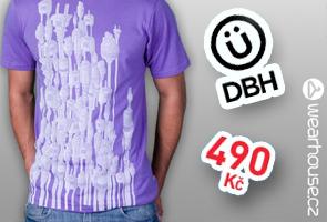 Tričko Plug - In od Design By Humans za super cenu